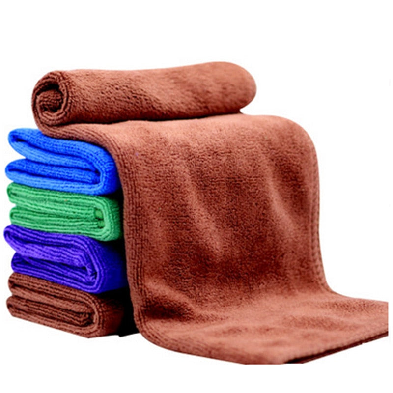 "Microfiber Cleaning Cloth Quick Dry Towel 8"" x 8"" Set of 20"