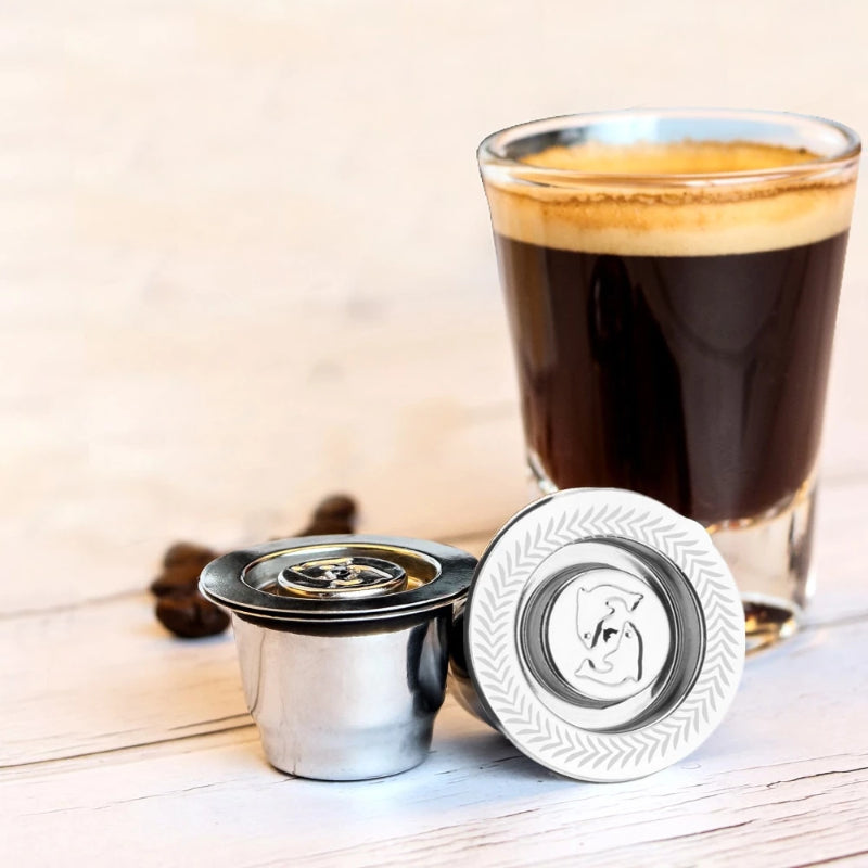 Nespresso Refillable Stainless Steel Capsule