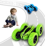 2.4G 4CH RC Stunt Drift Rock Crawler 360 Degree Flip Car