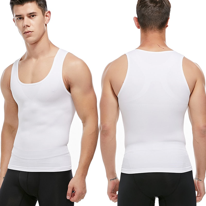 Body Shaper Belly Control - Slimming Undershirt