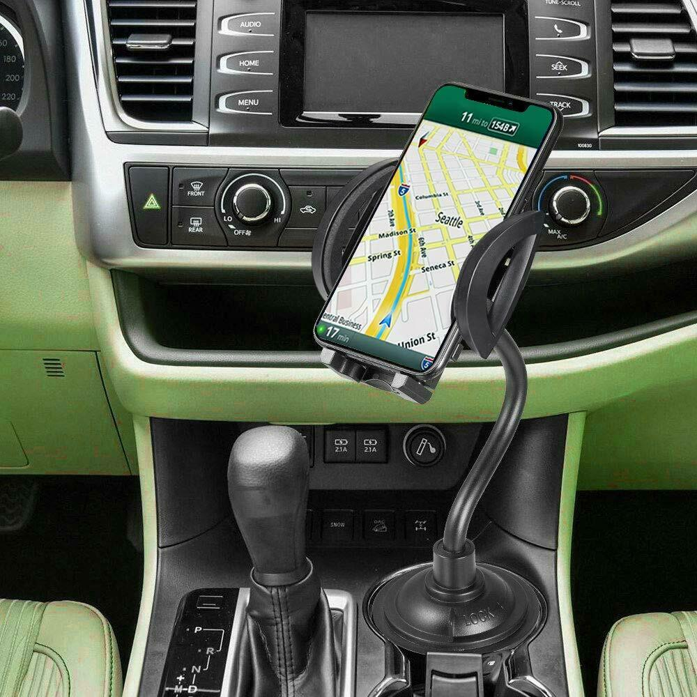 Adjustable Universal Gooseneck Phone or GPS Holder Cup Cradle Mount