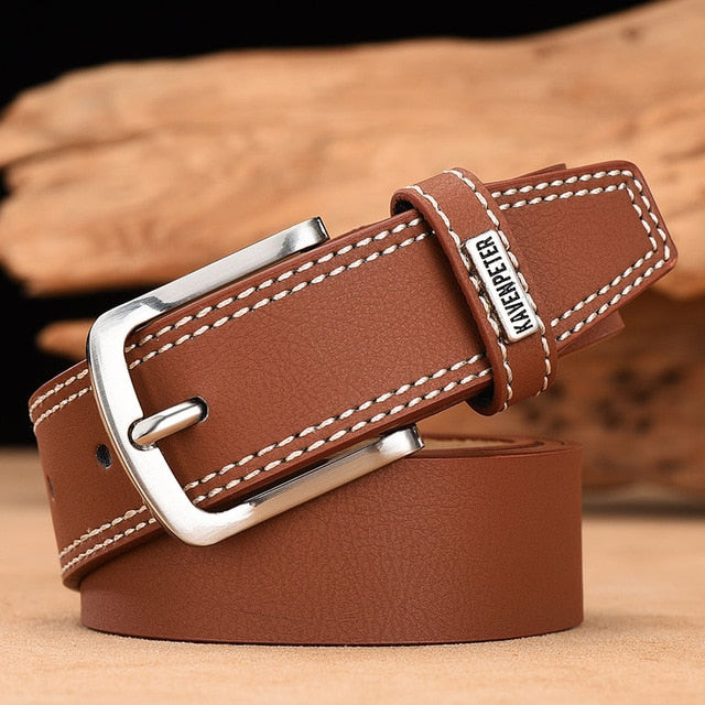 Men's Genuine Cow Leather Designer Belt