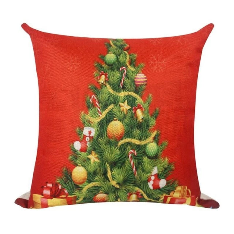 Christmas Decorative Pillow Case Cover