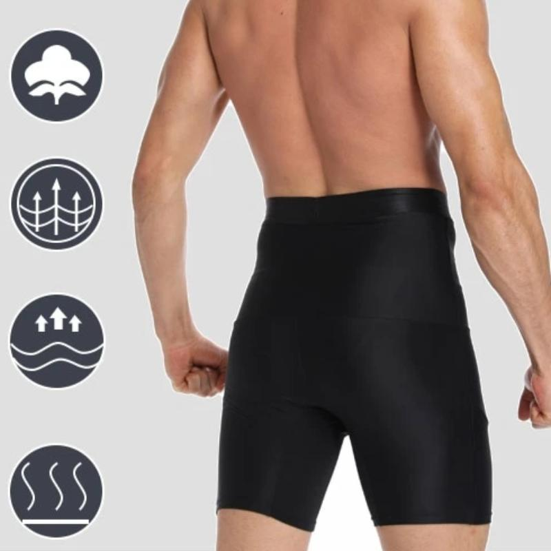 Men's Compression Body Shaper Slimming Under Shorts