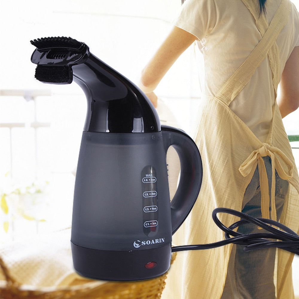 Hand-Held Portable Electric 2 In 1 Multifunctional Clothes Steamer and Kettle