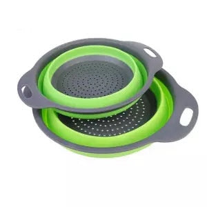 Silicone Collapsible Strainer Fruit - Vegetable Drain Basket