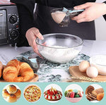 Adjustable Measuring Spoon Plastic Measure Cup with Scale 2 pcs/Set