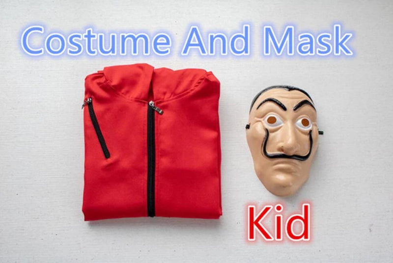 Kid Salvador Dali Costume and Mask