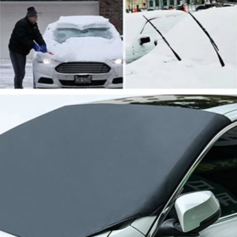 Automobile Magnetic Sunshade Snow Windshield Car Cover
