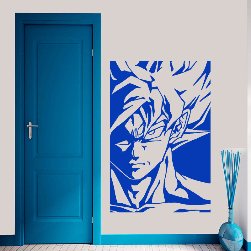 GOKU Dragon Ball Z Decal Removable Wall Sticker Graphic