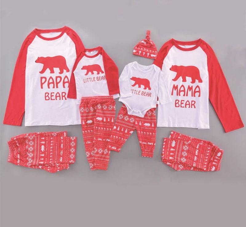 Family Matching Christmas Pajama Sets