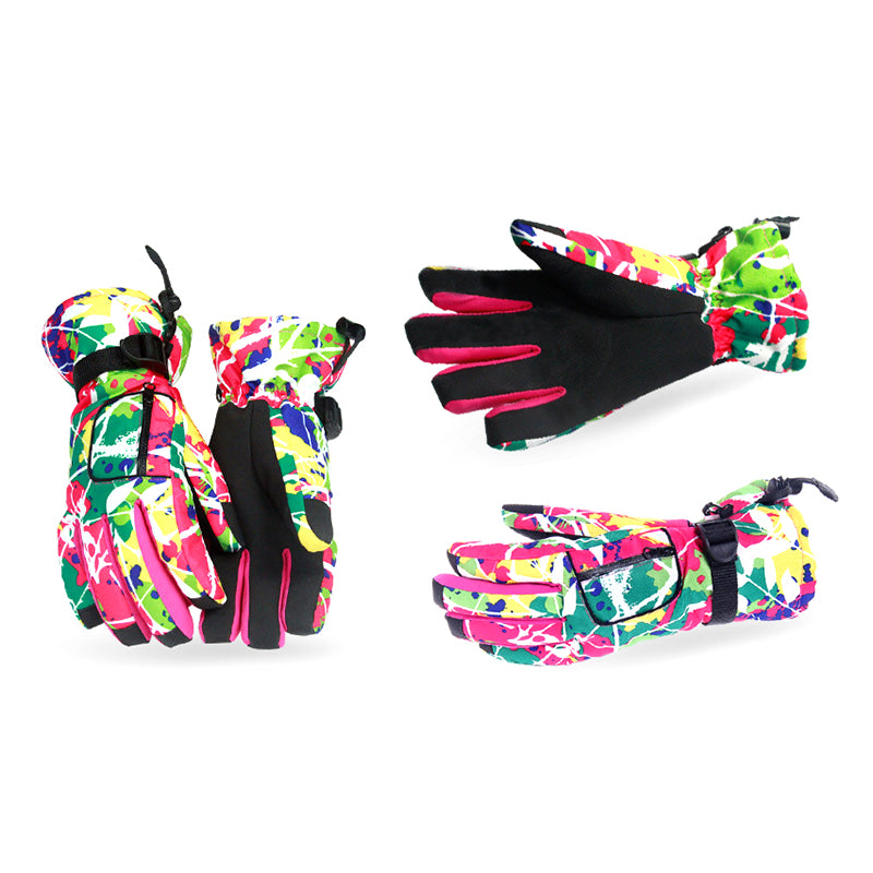 Women's Ski Outdoor Sport Waterproof Winter Gloves