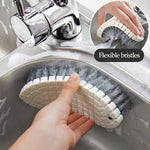 Flexible Sink Bathroom Cleaning Brush
