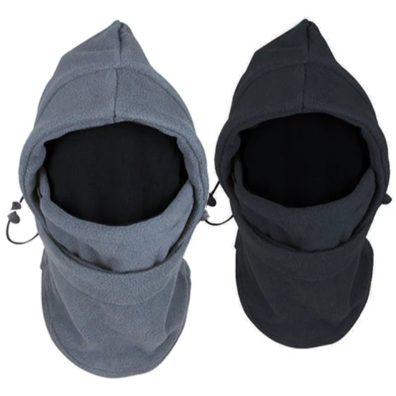 Warm Winter Fleece Face Mask & Hood