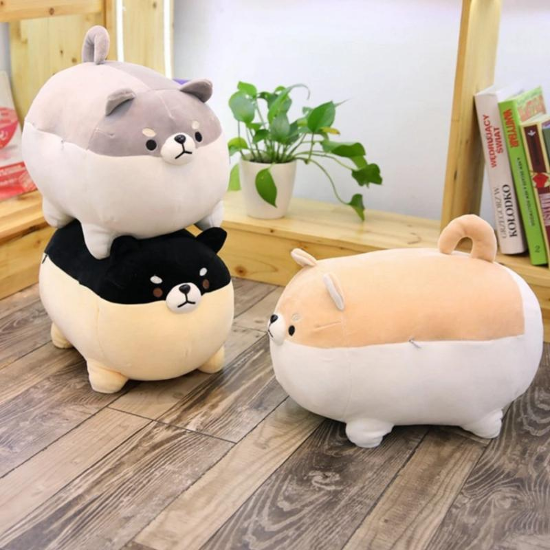 Soft Cuddly Cute Shiba Inu Dog Plush Toy