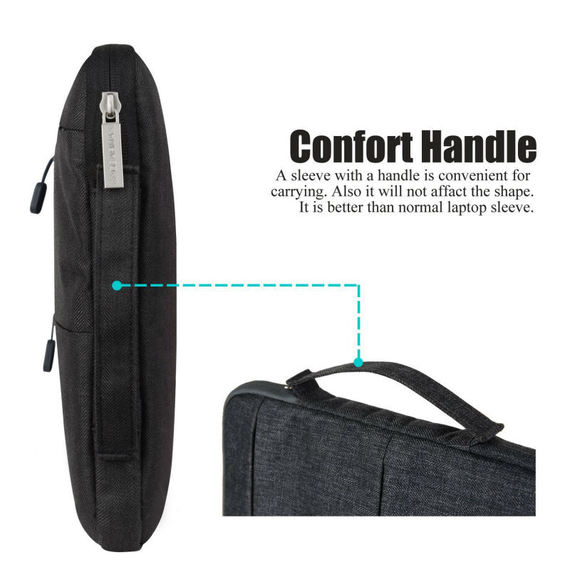 Anti-Theft Shockproof Laptop Carry Case