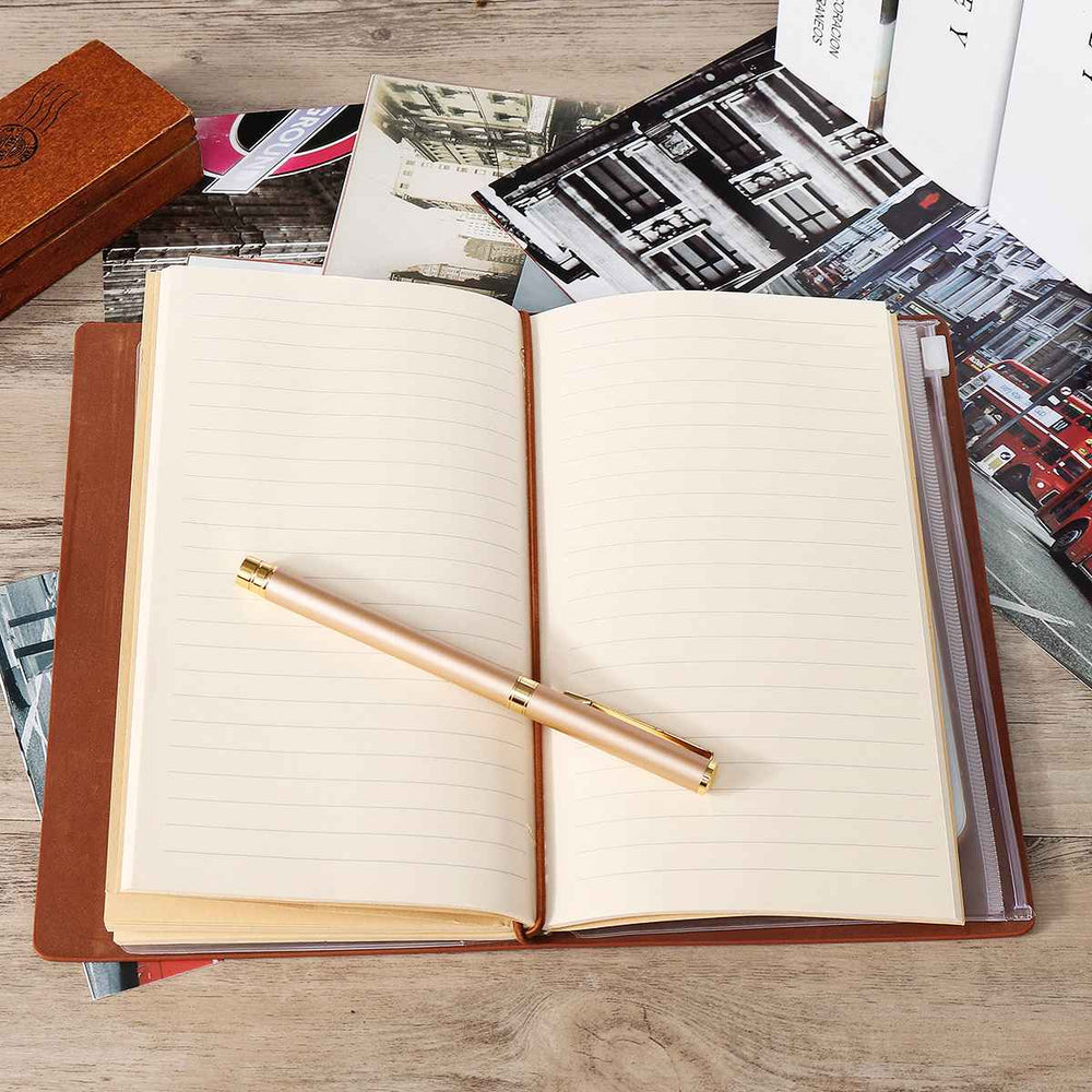 "Engraved Leather Journal Notebook Diary ""To My Daughter"""