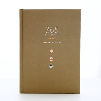 365 Day Stationery Notebook Daily Life Planner