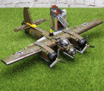 559Pcs Military Ju-88 Bombing Plane Building Block Kit