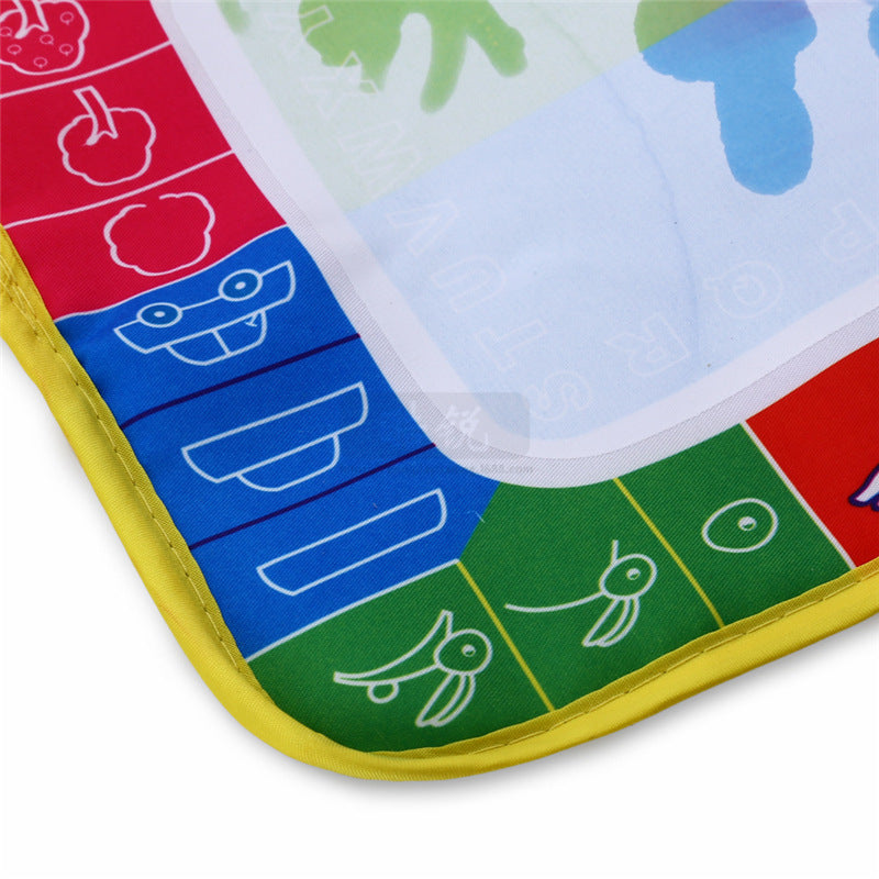 Baby Rainbow Water Drawing Mat & 1 Pen
