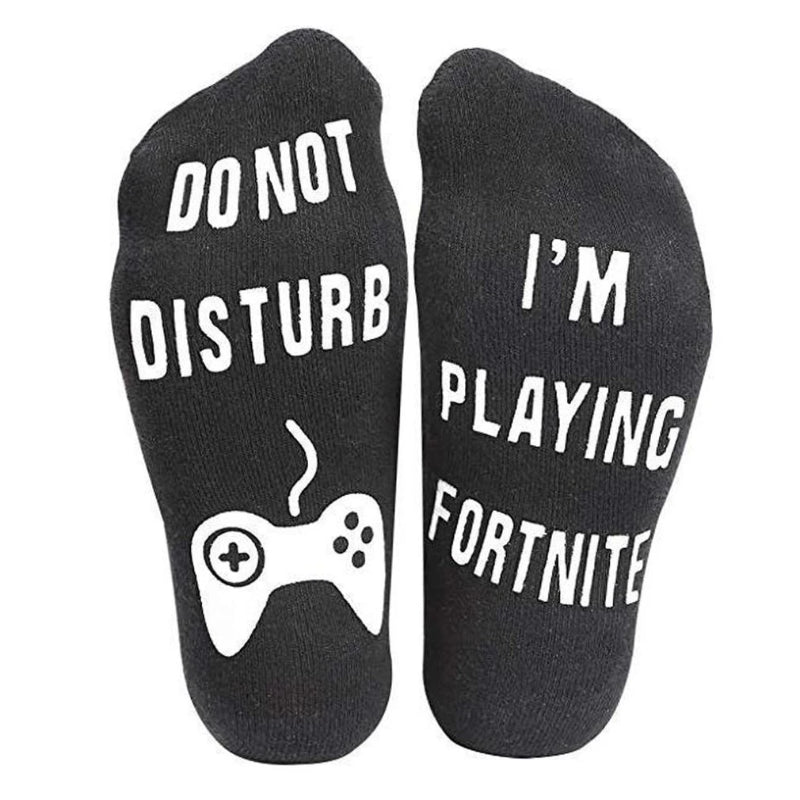 Men's Cartoon Funny Gamer Socks