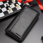 Genuine Leather RFID Blocking Wallet