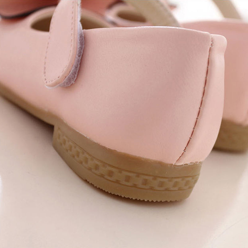 Girls Shoes PU Leather For Children Kids Princess Shoes Bowtie butterfly Princess Dance Shoes For Girls  Sneakers