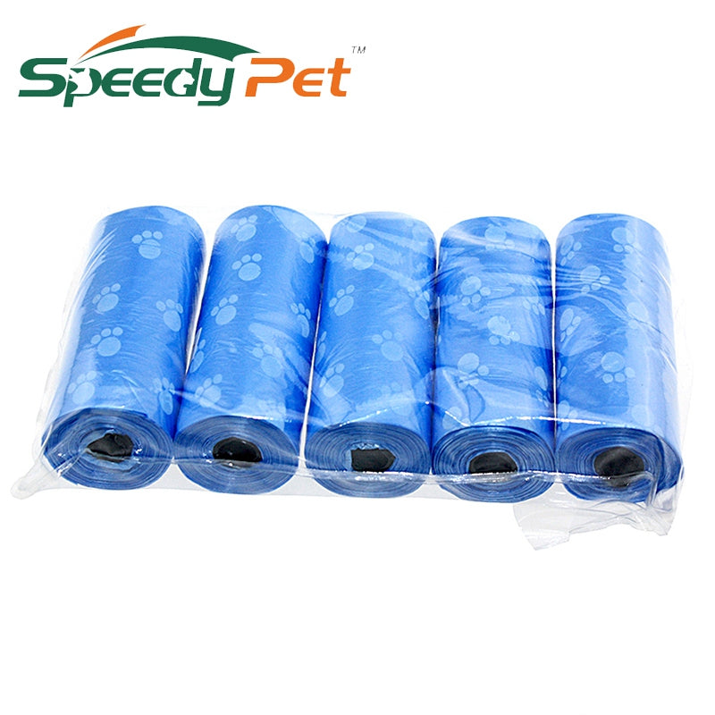5Pcs=100units Pet Dog Biodegradable Waste Pooper Scoopers Bags on Board Dog Trash Bags Carbage Bags Pet Supplies 1Lot/5Pcs