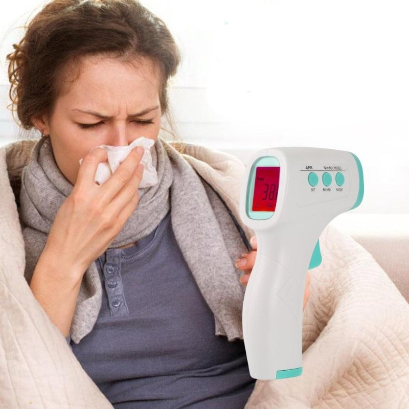 See if you are sick with a fever