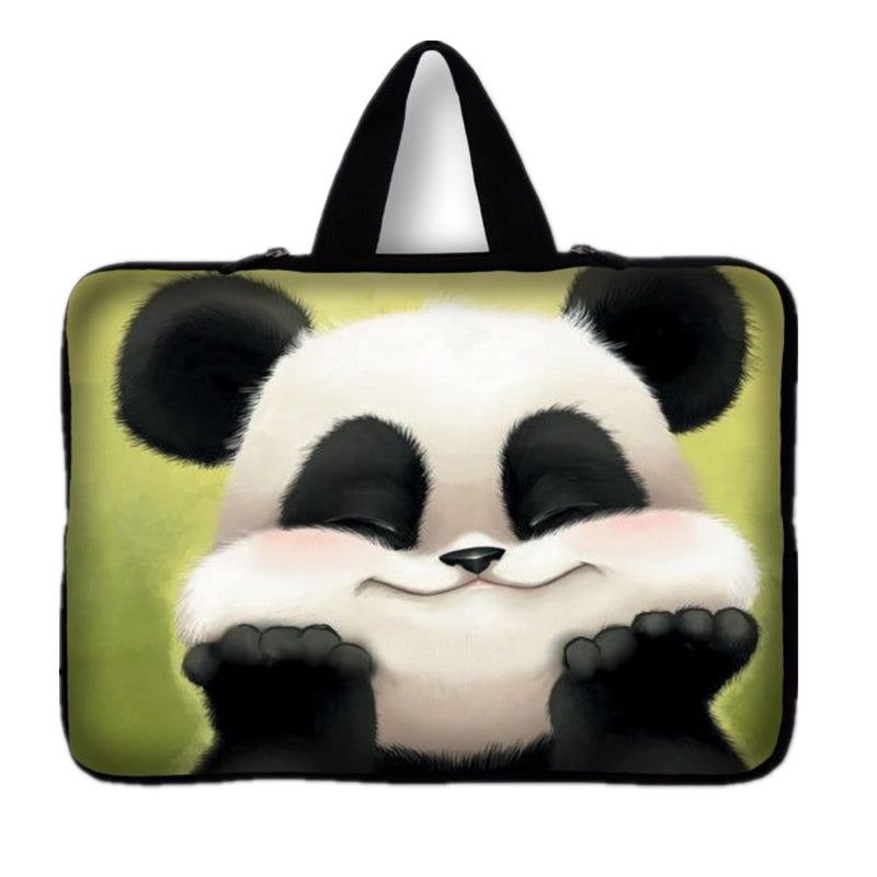 7 9.7 12 14 15 17 Panda Laptop Bag Tablet Sleeve Pouch For Notebook Computer Bag 13.3 15.4 15.6 17.3 For Macbook Air / Pro # #