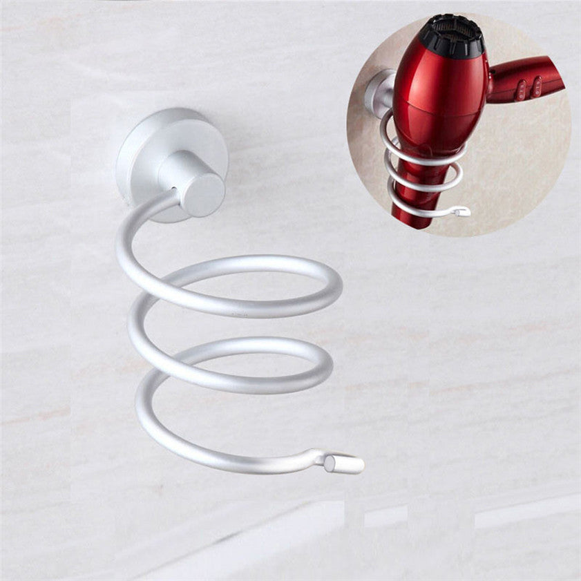 Stainless Steel Innovative Wall Mounted Hair Dryer Rack
