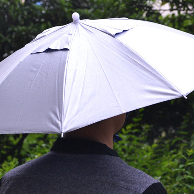Foldable Headwear Sun Block / Umbrella Cap