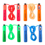 REIZ Professional Men Women Unisex Skipping Jump Rope Plastic Handle Adjustable Bearing Speed Fitness Accessories 280cm