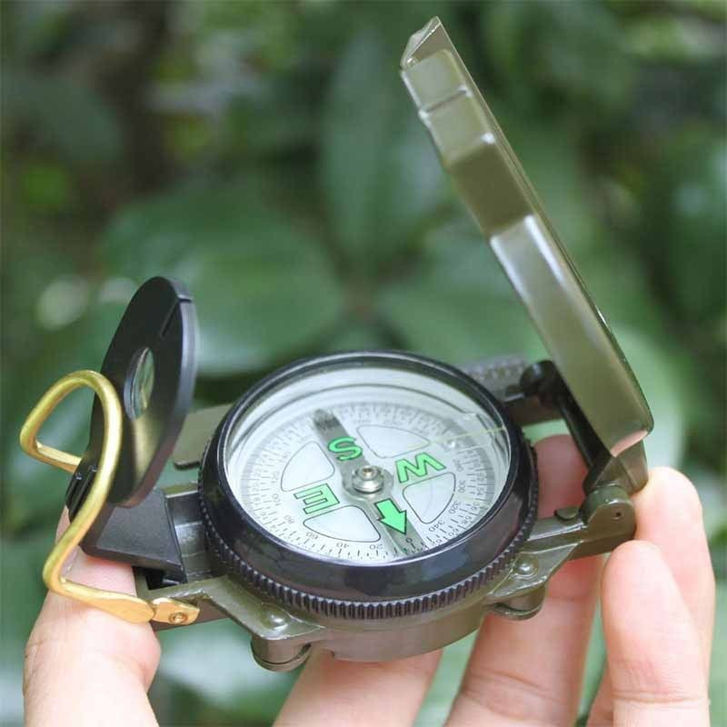 Portable 3-in-1 Outdoor Camping & Hiking Compass