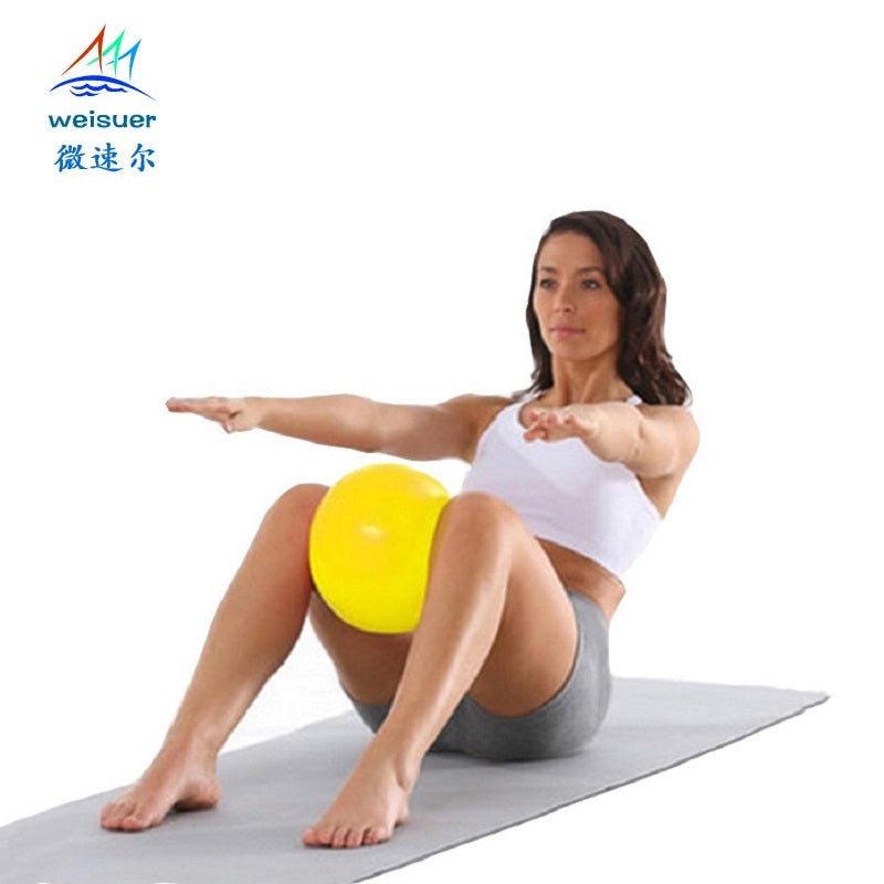 Mini Yoga Ball Physical Fitness ball for fitness Appliance Exercise balance Ball home trainer balance pods GYM YoGa Pilates 25cm
