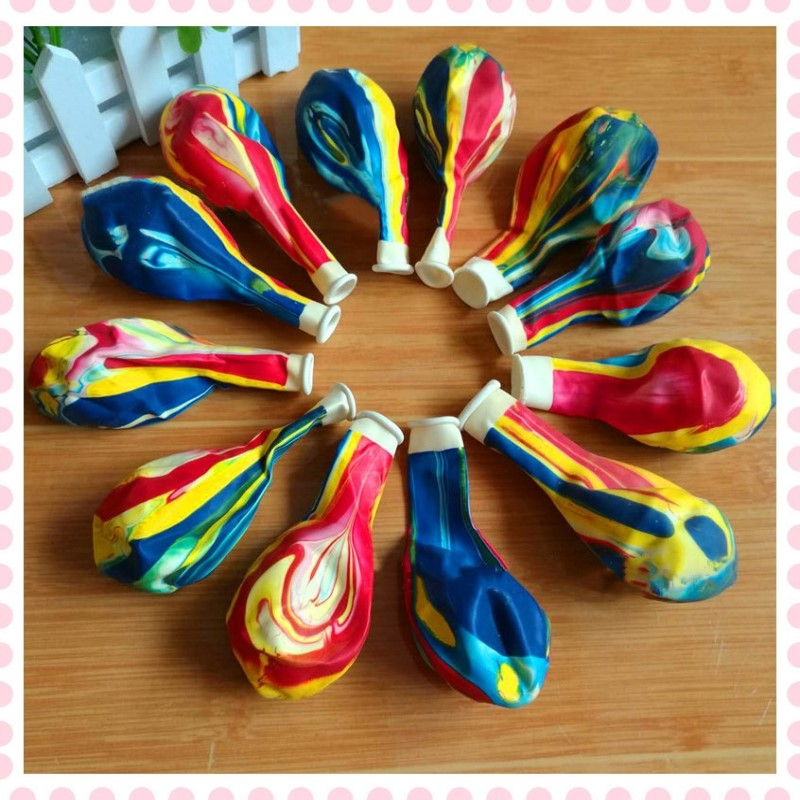 50pcs 10 inch latex-balloons bubble colorful clouds air balloons kids birthday party wedding decoration balls holiday supplies