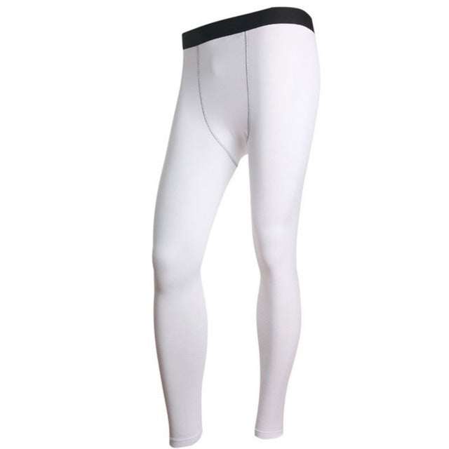 Men's Long Thermal Base Layer Tights Pants Evolution Plush Warm Underwear Slim Trouses