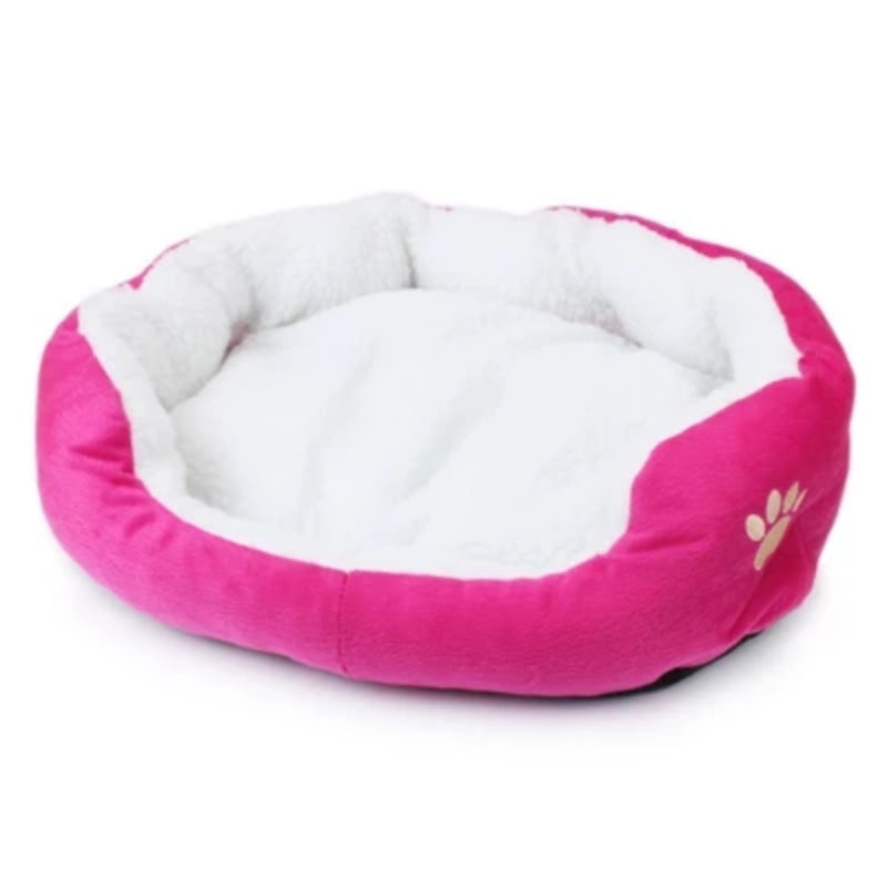 Brown Soft Cotton Cat or Dog Bed