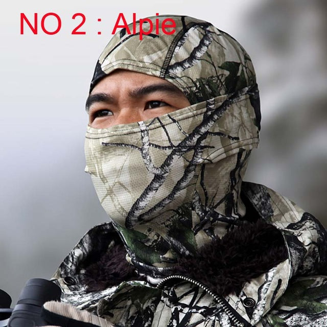 Camouflage | Military | Ninja | Hunt | Face | Mask