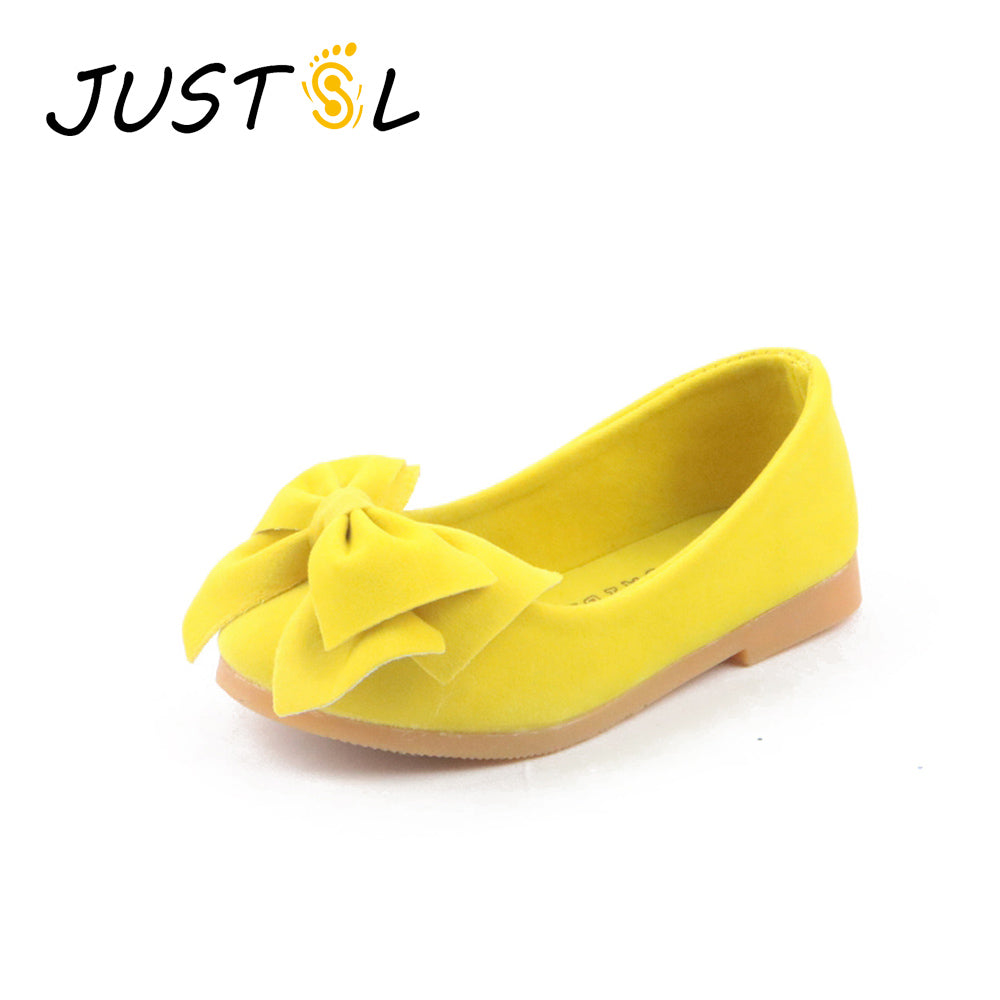 Children's fashion shoes girls princess bow Peas shoes safty quality non-slip shoes for kids size21-36