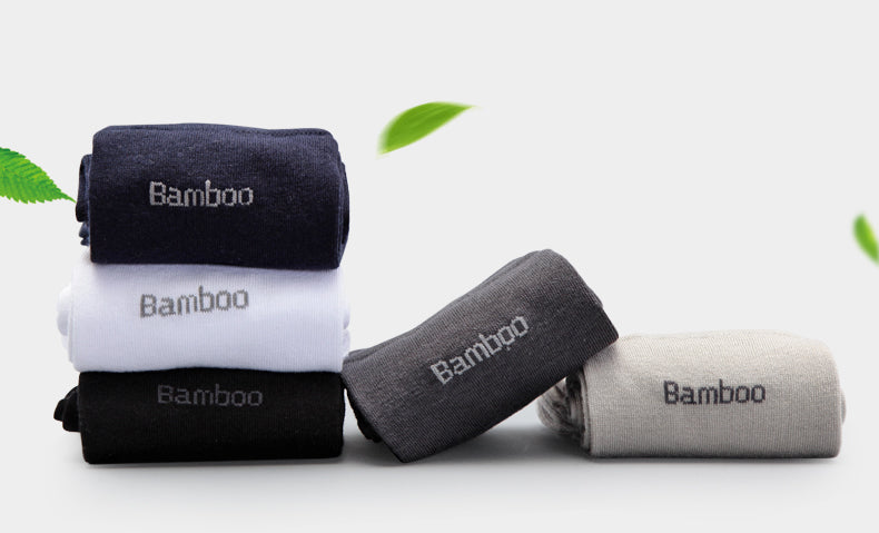 10 Pack: Men's Bamboo Anti-Bacterial Breathable Comfort Socks Was: $95.99 Now: $24.99 + Free Shipping.