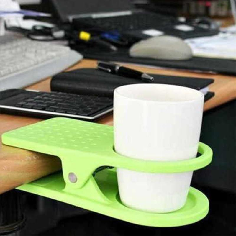 Table Clip-On Cup Holder