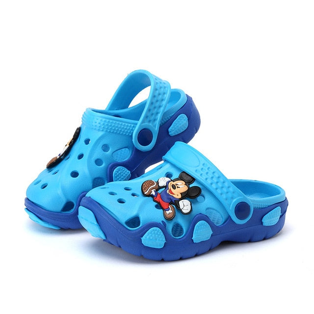 Kid's Cartoon Rubber Sandals