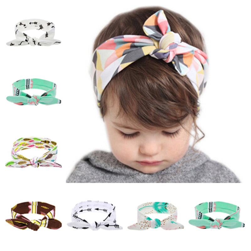 Lovely Newborn Elastic Bowknot Headband