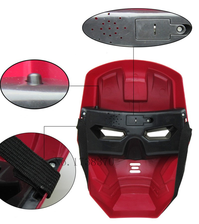 Superhero LED Man Mask