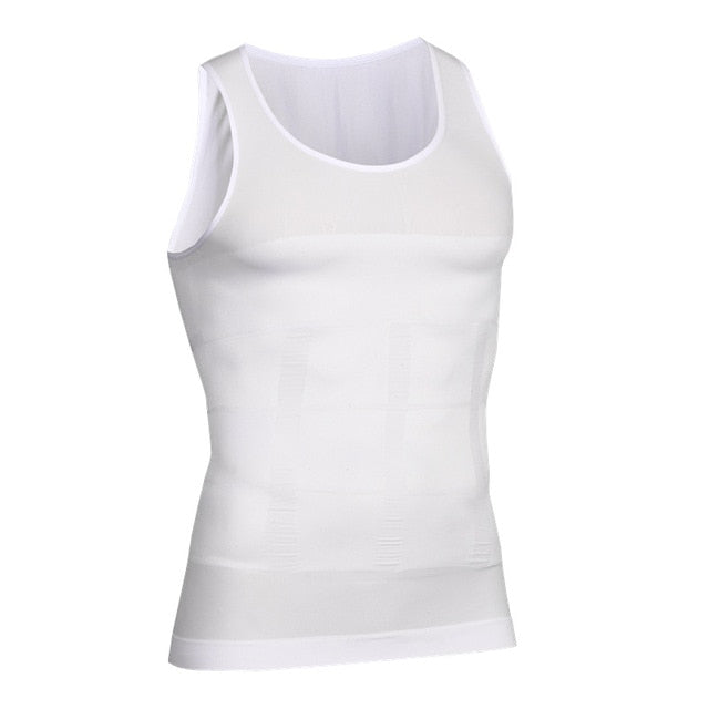 Men's Slimming Posture Compression Fitness Shirt