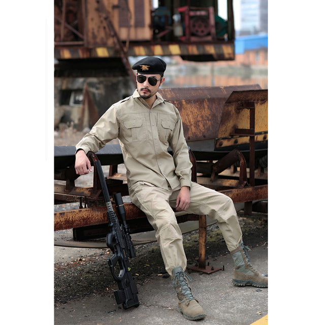 MEGE Men Cargo Pants, Combat Army Paintball Airsoft Trousers, Ripstop SWAT Pants, Mens' Casual Pants