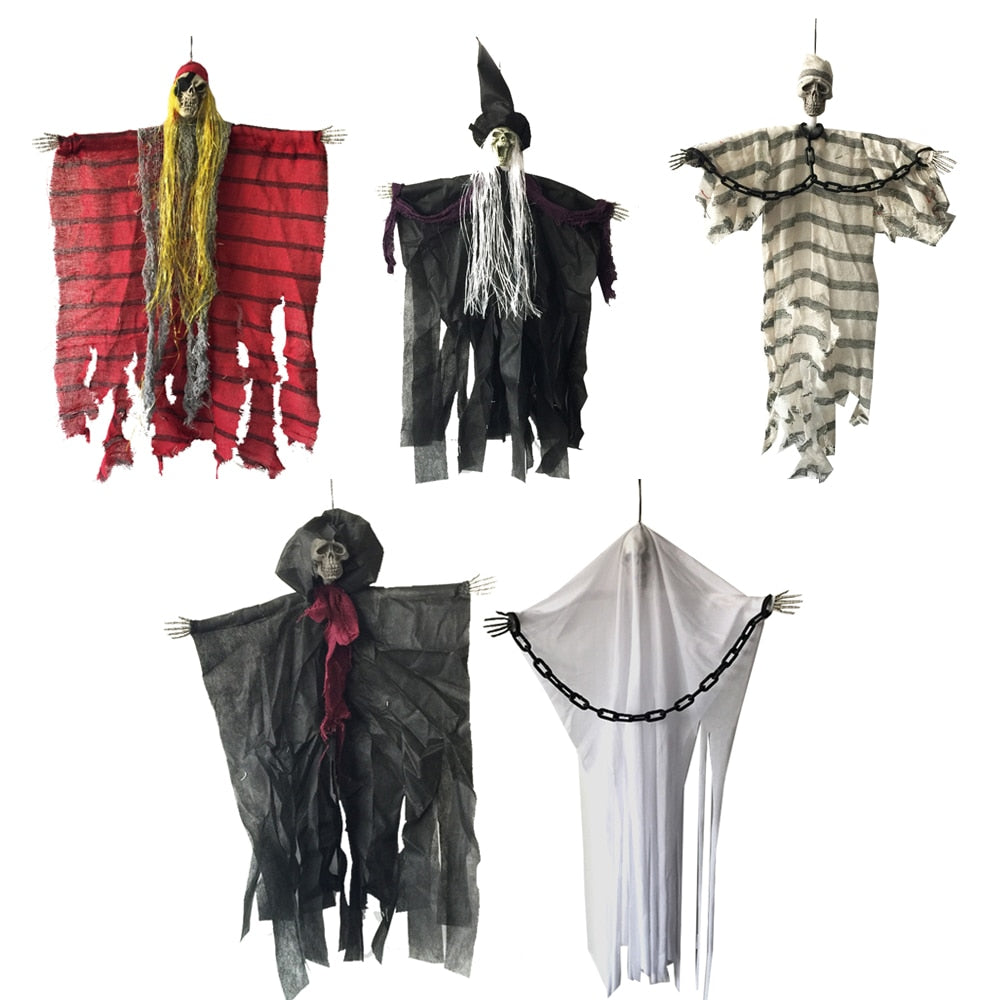 Hanging Haunted House Halloween Decorations