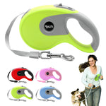 5m Retractable Dog Leash Automatic Extending Walking Lead For Medium Large Dogs Up to 88lbs Tangle Free
