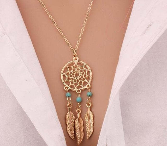 Dream Catcher Fashioned Antique Necklace Pendants
